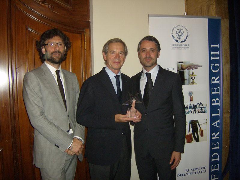 Marco Leardini, Guido Bertolaso e Gianmarco Giovannelli